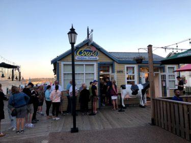 ハリファックス 外食 ⑭ アイスクリーム【Cow's】