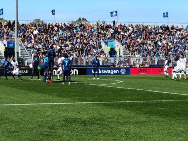 ハリファックスのプロサッカーチームの試合観戦【HFX Wanderers FC】ハリファックス 遊び方 ⑩