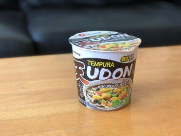ハリファックスで日本のカップラーメンを買った ②【Tempura UDON】