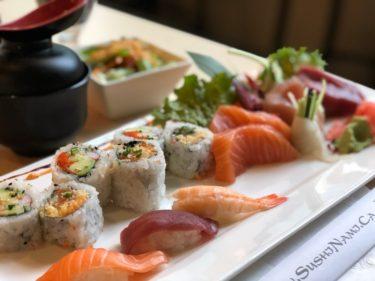 刺身の盛り付けが繊細な日本食・お寿司のお店【Sushi Nami Royale】ハリファックスの外食㉗