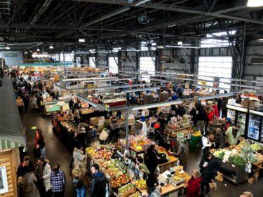 活気に溢れたハリファックスのファーマーズマーケット【Sea Port & Brewery farmer's market】