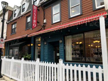 アーガイルストリートにあるフレンチレストラン【Bistro Le Coq】ハリファックスの外食㊶