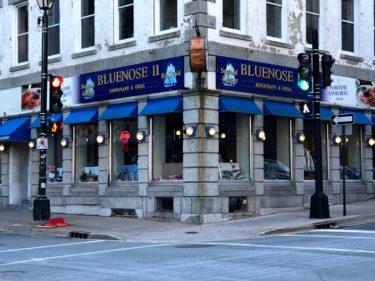 有名な船の名のついたシーフードレストラン【Bluenose II Restaurant】ハリファックスの外食㊹