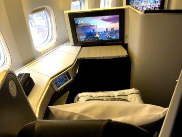エアカナダ シグネチャークラス(ビジネスクラス)の搭乗機【トロント ~ 羽田】