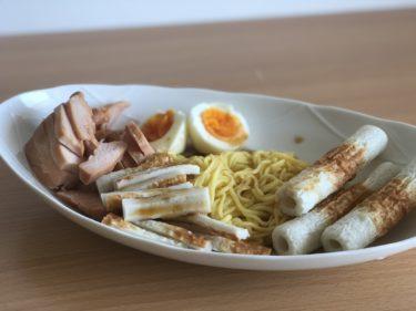 暑い季節にぴったりな高たんぱく低脂質の食事【ワイルド冷やし中華】